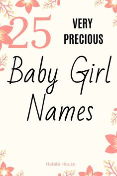25 Extremely Beautiful Baby Girl Names (with meanings) for Millennial Parents - Baby Boy Names Baby Girl Names Baby Girl Names Elegant, Beautiful Baby Girl Names, Girls Names Vintage, Unique Girl Names, Beautiful Babies, Traditional Baby Girl Names, Strong Girl Names, Stylish Baby Girls, Baby Girl Names List