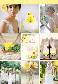 Get the yellow wedding invitations at: http://www.elegantweddinginvites.com/product/chic-yellow-sunflower-wedding-invitations-ewi013/