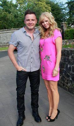 The former Westlife singer Shane Filan with his wife Gillian Shane Filan, Croke Park, Irish Eyes, Reality Tv, Family Christmas, Singer, Music, Kids, Band