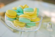 Just another day .: Lemon Macarons
