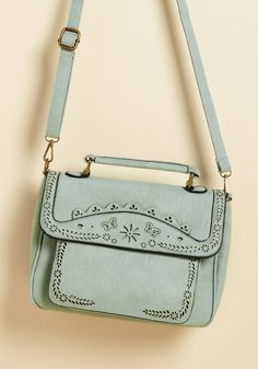 Leave Your Mark Bag in Mint, #ModCloth