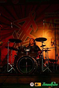 Empirical Tribe drummer: Banshan Nongkhlaw