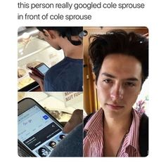 Is this real The post Is this real appeared first on Riverdale Memes. Memes Riverdale, Bughead Riverdale, Riverdale Funny, Sprouse Bros, Dylan Sprouse, Cole Sprouse Funny, Zack Y Cody, Lol, Cole Sprouse Jughead