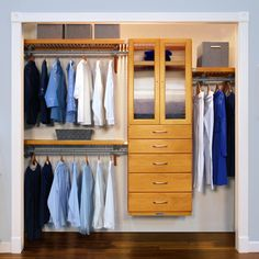 Mexican Bedroom, Deep Closet, Shoe Storage Solutions, Linen Closet Organization, Master Bedroom Closet, Closet System, Home Collections, Drawers, Solid Wood