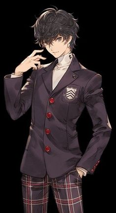 Persona 5 Anime, Persona 5 Joker, Persona 4, Ren Amamiya, Boys Anime, Akira Kurusu, Shin Megami Tensei, Estilo Anime, Anime Angel