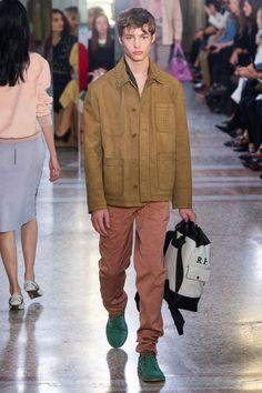 Bottega Veneta Spring 2018 Menswear Collection Photos - Vogue