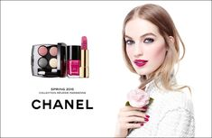 Inspired by the springtime gardens in Paris, Chanel's spring 2015 makeup collection features captivating color ranging from vibrant corals to deep pink hues.