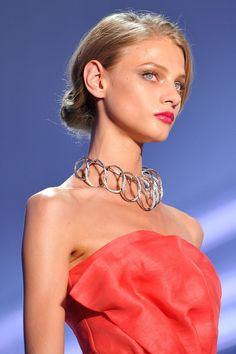 modelmofos: Anna Selezneva @ Christian Dior S/S...