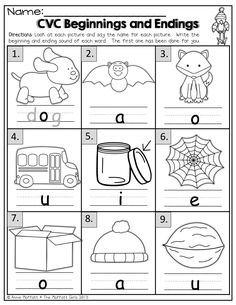 math worksheet : beginning sounds and middle sounds worksheets  mrs ricca s  : Beginning Sound Worksheets For Kindergarten