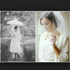 Wedding Outfit from 1920s in today's era.