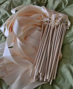 (diy) ribbon wand ideas