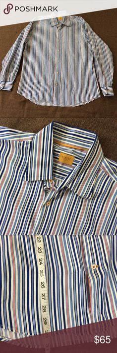 Robert Talbott Carmel Men's Button Down Shirt L In excellent preowned condition. Robert Talbott Shirts