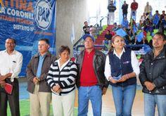 Más recursos federales para infraestructura deportiva, propone Caritina