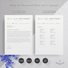 High-quality minimal resume templates that may help you land your dream job or simply create a better looking business. In current employment market, only eye-catching clean and creative Resumes can stay in employers hands. So its very essential to pick only best simple and clean resume templates that can make big impact ...#resume #cv #job #modernresume #template #professionalCv #clearCv Modern Resume Template, Resume Templates, Graphic Design Blog, Cv Simple, Resume Cv, Design Resume, Professional Cv, References Page