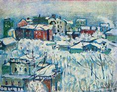 Wassily Kandinsky Solsticio de invierno 3
