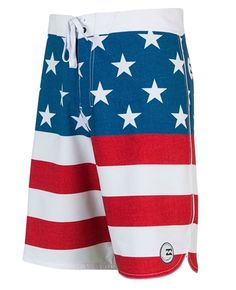 77005debb8 Everyone needs a 'Merica swimsuit. Billabong Freedom Boardshorts -  Americana Surf Shorts, Mens