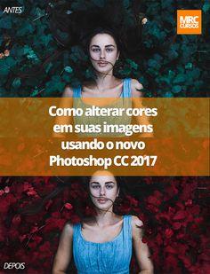 Alguém já contou para você que mudar as cores de suas fotografias no Photoshop é mais fácil do que você imagina?   Descubra o passo a passo deste tutorial clicando aqui ➡️   #Photoshop #mrccursos