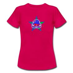 Beetlebug T-shirt design Girls Tees, Cool Tees, Volkswagen, Pop Art, Shirt Designs, Star, Hoodies, Retro, Summer