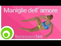 Maniglie dell'amore: esercizi per eliminarle e per dimagrire i fianchi - YouTube