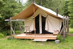 Camping can takes its toll. Hard, cold, uneven ground jabs through the sturdiest sleeping bags. A camping platform keeps you away from the critters and ground bugs by raising you up on an artificial surface. Platforms come in all shapes and sizes, from large surfaces that hold up elaborate tents to small, portable platforms made for one person. You...