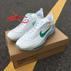 8c1f43066a6 Off-White x Nike Air Max 97 OG Menta AJ4585-101. kicksvogue