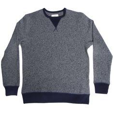 Grey Speckled Wool Sweatshirt | Taylor Stitch