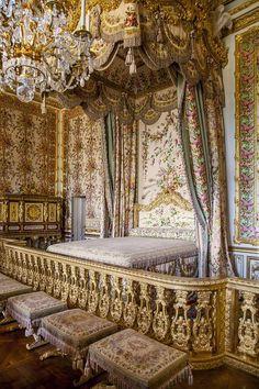 Queens Chambre (Marie Antoinette's room) Chateau de Versailles