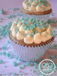 Breaking Bad vanilla and lemon cupcakes/ Cupcake de baunilha e limão @obgcupcakes