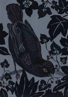 limilee:  Black birds byNathalie Lété
