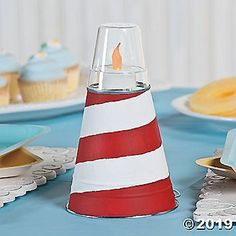 Planning a nautical baby shower? This baby shower centerpiece idea is just the touch your shower décor is missing! Simple to make, you're sur. Sailor Baby Showers, Navy Baby Showers, Mickey Baby Showers, Anchor Baby Showers, Nautical Baby Shower Decorations, Nautical Centerpiece, Baby Shower Centerpieces, Nautical Baby Shower Cakes, Wedding Centerpieces