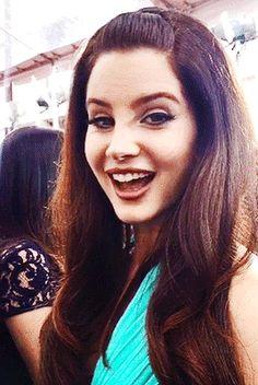Lana Del Rey at the 2015 Golden Globe Awards