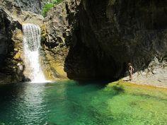 Las gargantas de Escuaín un rincón secreto del Parque Nacional de Ordesa.  Revilla. North Spain,