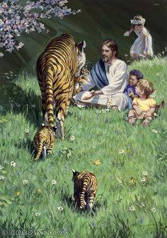 Isaiah 11: Jesus with children