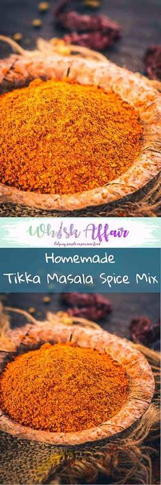 Tikka Masala Spice Mix is a fine motley of aromatic and strong spices that end up granting the quintessential flavour to any delicacy for which it is used!  #Indian #Spice #MIx #Powder #Masala #Homemade #Tikka via @WhiskAffair