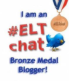 ELTchat bronze medal blogger