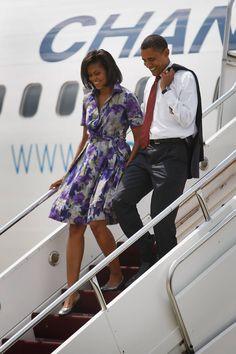 Michelle Obama's Style:Shirtdress
