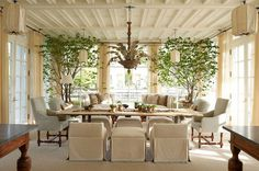 FABULOUS Dining Room  -- Design by Frank Ponterio.