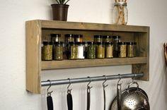 Furniture. Appealing Design Ideas Of Kitchen Wall Hanging Spice Racks. Wonderful Design Kitchen Wall Hanging Spice Racks featuring Rectangle Shape Wooden Spice Rack and Brown Wooden Spice Racks