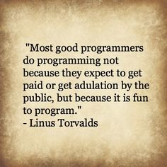 Linus Torvalds Quote