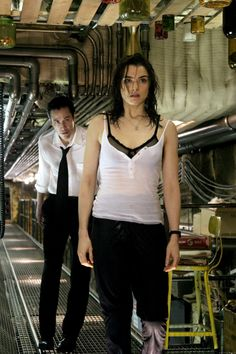 Constantine (2005) Reawakened by Constantine (Keanu Reeve), Angela's (Rachel Weisz) psychic abilities prove crucial to unraveling the mystery behind the alarming rise in demonic activity. - Photo By Warner Brothers