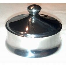 Stainless Steel Shaving Bowl with Lid $16.99