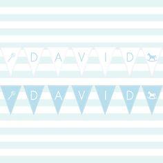 Rocking Horse Baby Shower Banner