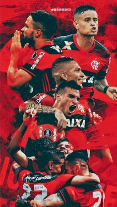 Reis do Rio 👑❤️ Peruvian People, Sports Clubs, Everton, Best Player, Football Players, Ronaldo, Soccer, Collection, Wallpaper