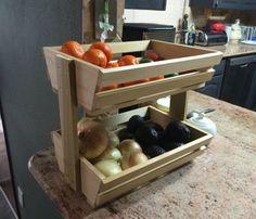 DIY Veggie/Fruit Stroage Rack