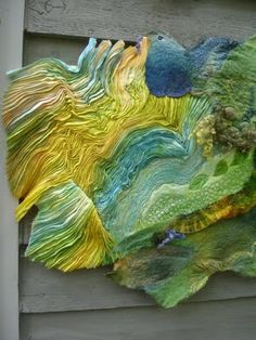 """Song of the Earth,"" by Margo Duke won the 1st Prize at the Maryland Sheep & Wool competition."