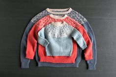 Bobble Yoke Sweater: Now Sized for Kids and Women Too! | The Purl Bee