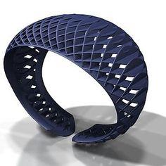 Peggy Bannenberg 3D Armband. #3dPrintedJewelry