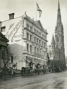 George's department store, Collins St, c early 20th century