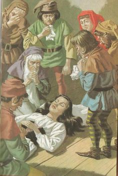 Ladybird Book: Snow White and the Seven Dwarfs (1969) | Illustrator by Eric Winter | Little Owl Ski