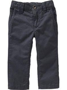 $9.80 (w discount) Skinny Pop-Color Khakis Product Image. 18m-5T
